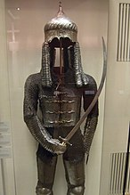 Suit of chain mail from DHM museum Berlin.jpg