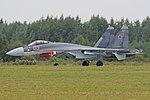 Sukhoi Su-35S 'RF-95242 - 03 red' (37309808322).jpg