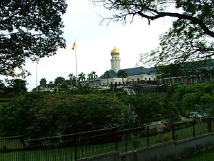 The palace of the Sultan of Selangor in Klang