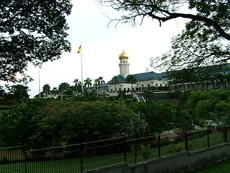 Selangor Sultanate - The palace of the Sultan of Selangor in Klang