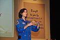Sunita Lyn Williams - Science City - Kolkata 2013-04-02 7497.JPG