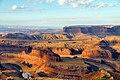 Sunrise at Dead Horse Point State Park, Utah (44368222530).jpg