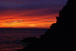 Sunset on tenerife canary island atlantic ocean.jpg