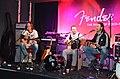 Supacoustix (Klaus Spangenberg, Schrader, Jörg Hamers) Takamine & Guild Acoustic-Show, Fender booth - Musikmesse Frankfurt 2013, 2013-04-10 09.25.jpg