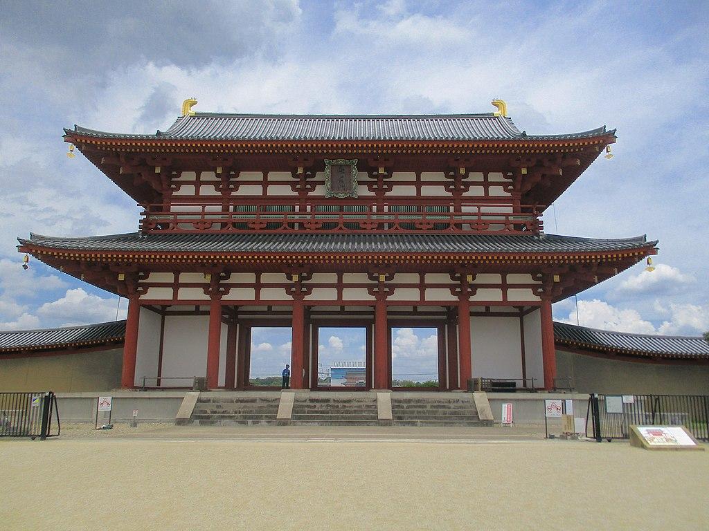 Suzakumon in Heijo Palace