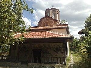 Katarina Branković - Church of Saint Stephen in Konče