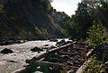Svaneti River Near Mestia Mineral Waters-Upė prie Mestijos mineralinio vandens šaltinio (3872431576).jpg
