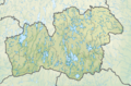Sweden Kronoberg relief location map.png