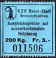 Switzerland Basel 1941 war tax 3Fr - 10B.jpg