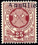 Switzerland Biel Bienne 1892 revenue 25c - 1.jpg