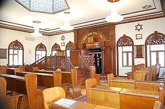Mountain Jews - Synagogue at Qırmızı Qəsəbə (purely Jewish town), Azerbaijan