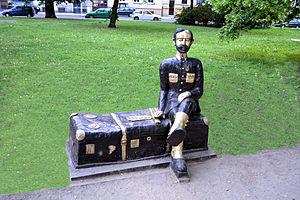 Szczecin pomnik Jana Czekanowskiego
