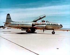 Lockheed T-33A der USAF