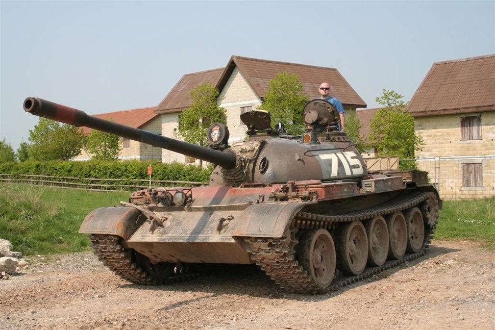 T-55 main battle tank