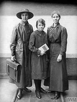 THE EMPLOYMENT OF WOMEN IN BRITAIN, 1914-1918 Q30342