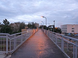 Sõjamäe - Image: TLN Bridge between St.Petersburg highway and Suur Sõjamäe