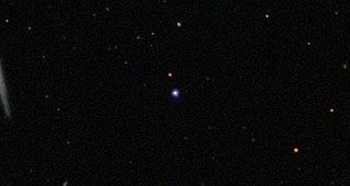 TON 618 Quasar in constellation Canes Venatici