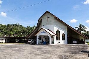 Kota Belud District - Image: Taginambur Sabah Gereja SIB 01