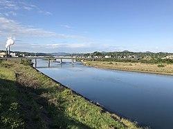Takatsugawa River from Takatsu-Ohashi Bridge 5.jpg