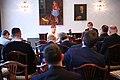 Tallinn Digital Summit press presentation by President Kersti Kaljulaid Digital innovation and Estonia's ambitions Kersti Kaljulaid and Taavi Linnamäe (23517137478).jpg