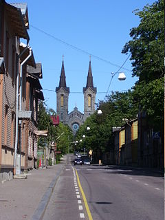 Kassisaba Subdistrict of Tallinn in Harju County, Estonia