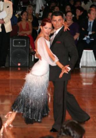 Ballroom tango - American tango