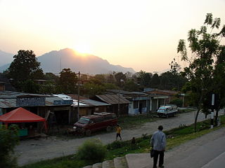 Tarapoto Town in San Martín, Peru
