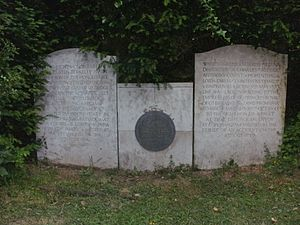 Augustus Paget - Paget family plot in the cemetery of St Bartholomew's church, Tardebigge, Worcestershire, with the graves of Sir Augustus Berkeley Paget, GCB (1823–1896) and his wife Walburga Ehrengarde Helena (née Countess von Hohenthal, 1839–1929)