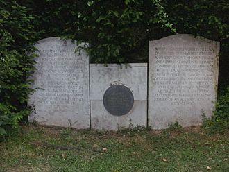 Tardebigge - Tardebigge cemetery, Paget family plot