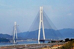 Tatara Bridge - the Tatara Bridge
