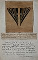 Tattoo design; tracing of a genital tattoo taken from the bo Wellcome V0047506EL.jpg