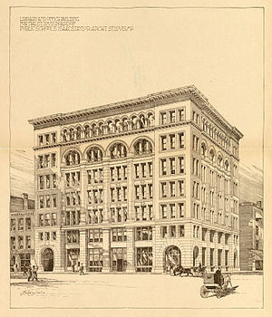 Isaac S. Taylor - The Board of Education Building in St. Louis was one of several civic structures Taylor eventually designed.