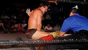 Ted DiBiase Jr. - DiBiase wrestling at a Florida Championship Wrestling show.