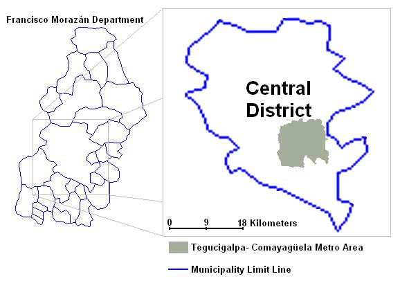 Tegucigalpa Metro Area 2