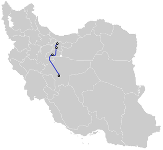 TehranQomIsfahan High Speed Rail Wikipedia