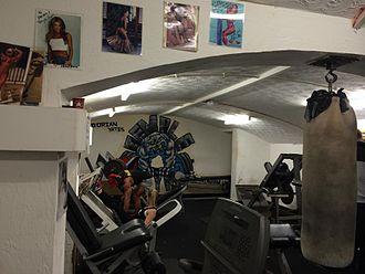 Dorian Yates - Inside Temple Gym at Birmingham