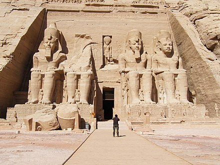 Great Temple at Abu Simbel Temple d'Abu Simbel - panoramio - youssef alam (2).jpg
