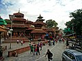 Temples in the Kathmandu Durbar Square.jpg