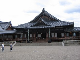 Tenrikyo Church Headquarters - North section (Worship Hall) of the Main Sanctuary.