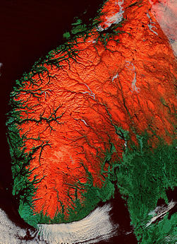 Terrain of Norway with red snow.jpg