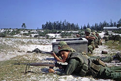 U.S. Marines battle in Hamo village