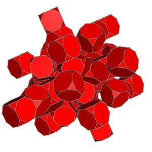 Truncated 24-cells - Net