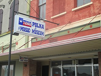 Polka - Texas Polka Music Museum in Schulenburg west of Houston, Texas