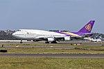Thai Airways (HS-TGG) Boeing 747-4D7 at Sydney Airport.jpg