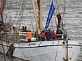Thames barge parade - in the Pool - Reminder 6735.JPG