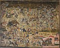 The Battle in the Forest, Nuremberg, 1502, watercolors on canvas - Germanisches Nationalmuseum - Nuremberg, Germany - DSC02784.jpg