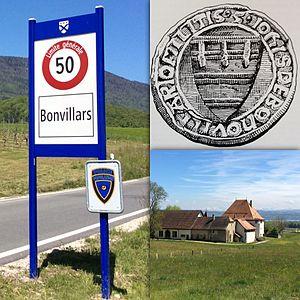 John de Bonvillars - The Bonvillars Coat of Arms and Bonvillars today