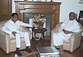 The Chief Minister of Orissa Shri Naveen Patnaik calls on the Union Minister of Commerce & Industry Shri Kamal Nath, in New Delhi on February 27, 2006.jpg