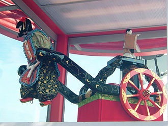 Ma Jun - Replica of a south-pointing chariot, 2005
