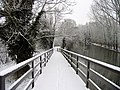 The Footbridge and Canal, The Slippery Slope - geograph.org.uk - 333403.jpg